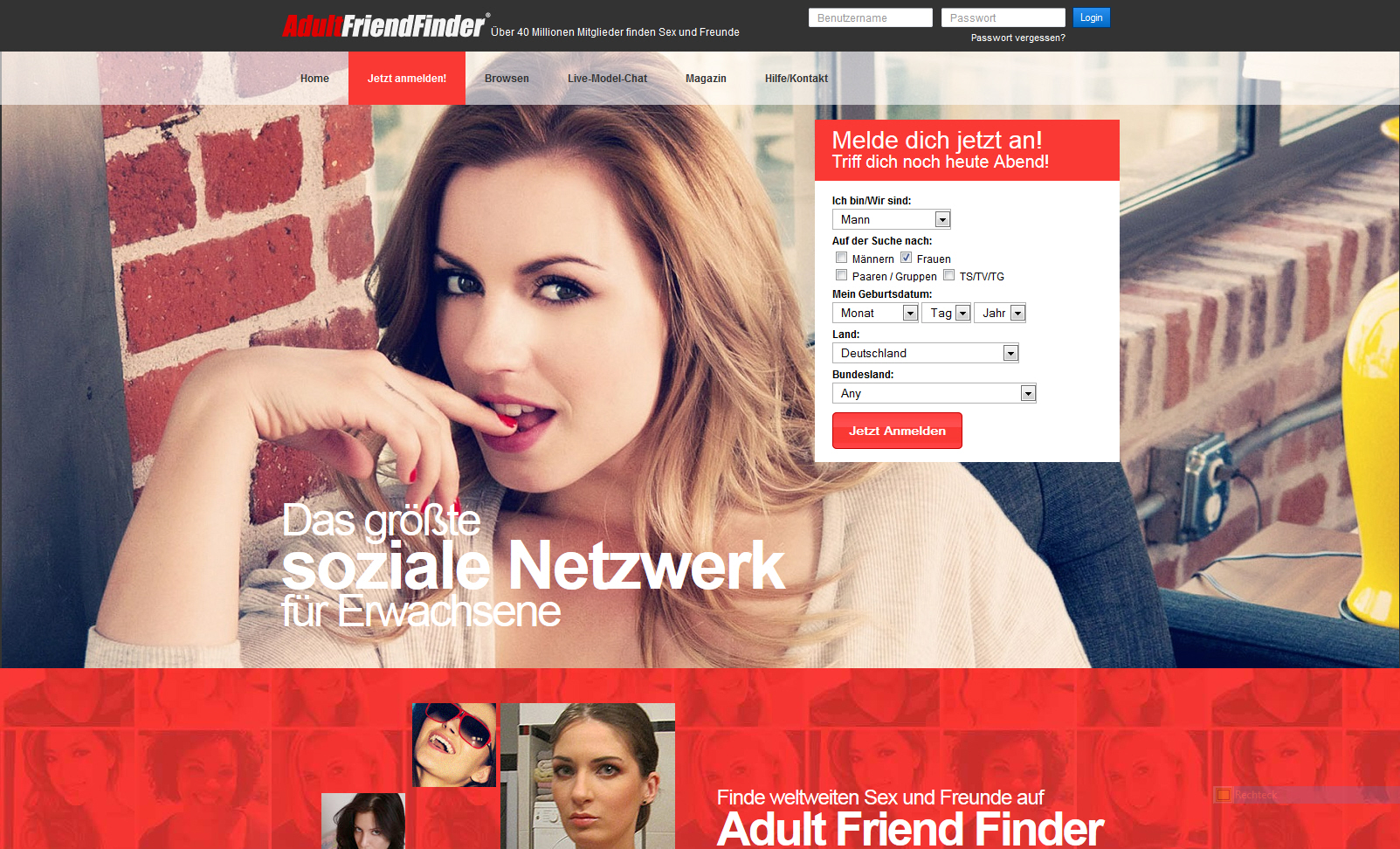 Alternative adultfriendfinder